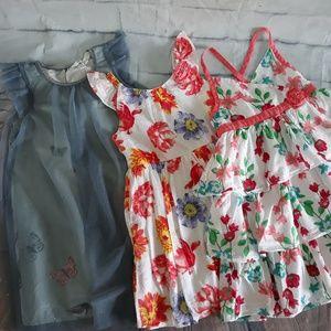 Toddler 4Y 5Y Kids Girls Dress Bundles